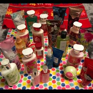 NWT Never Used Assorted Bath & Body Works Products